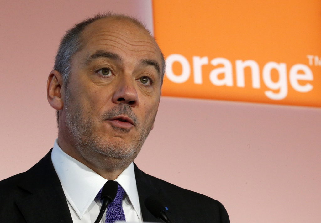 Orange CEO Stephane Richard