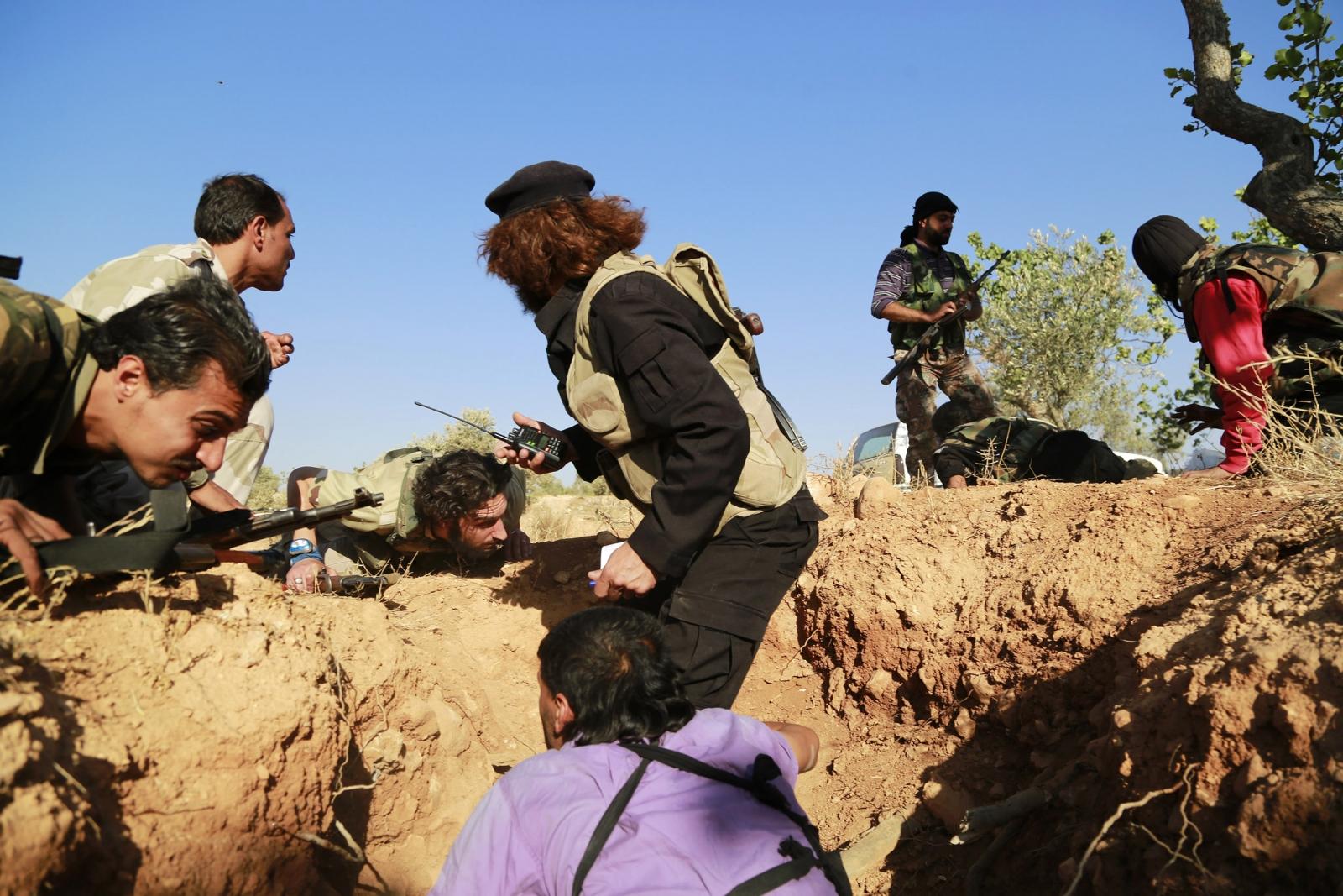 Harakat Hazm Syria US-Backed Rebels