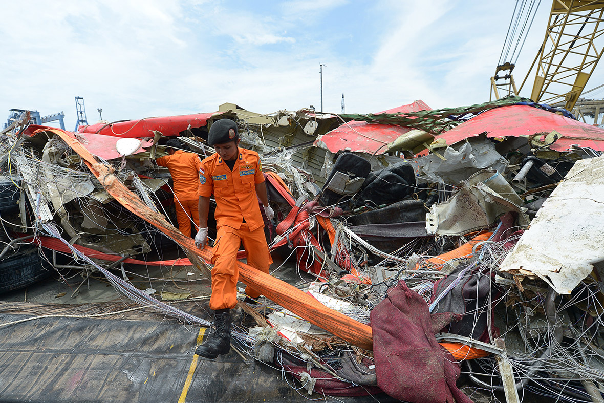 AirAsia Flight QZ8501 fuselage