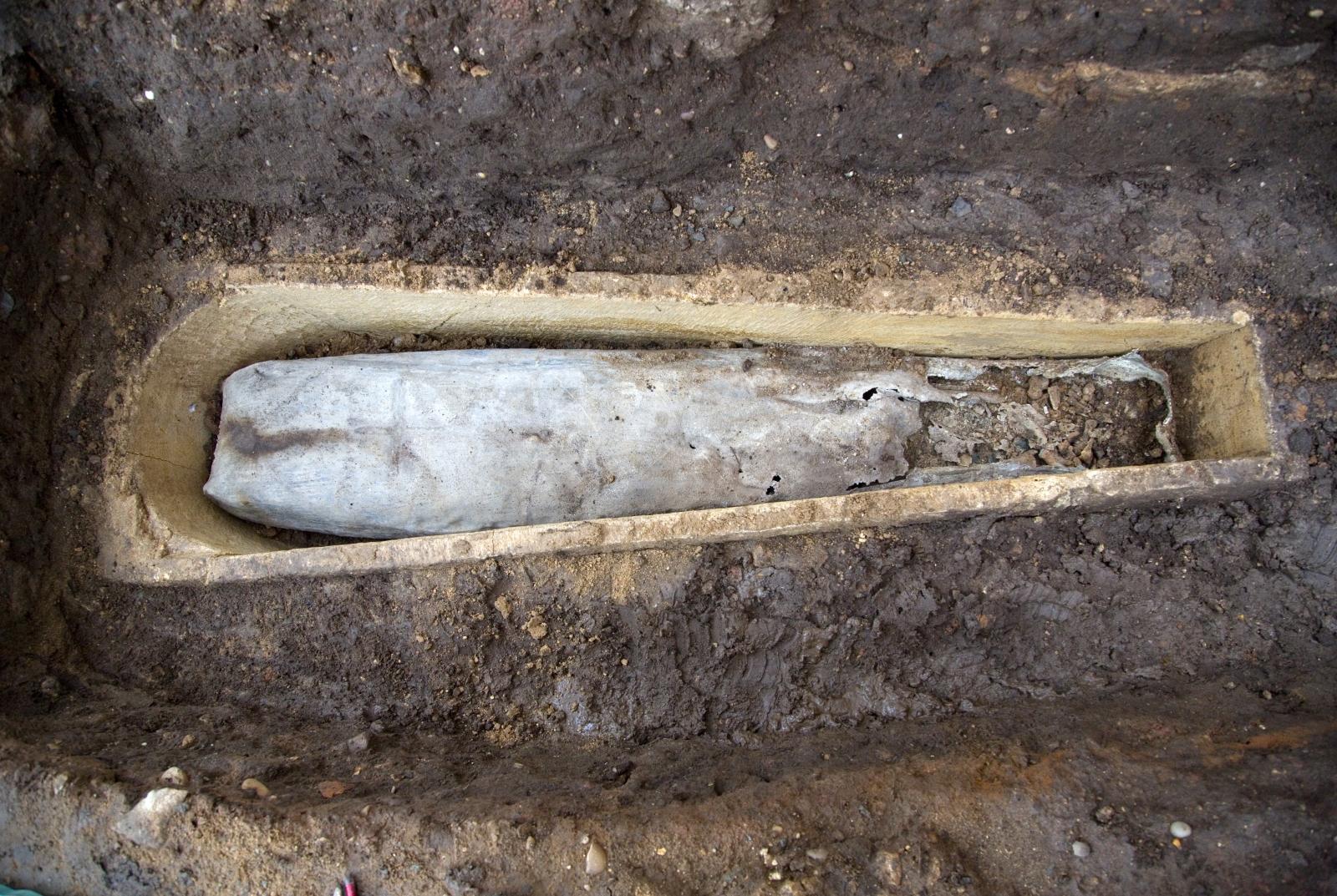 Richard III burial site