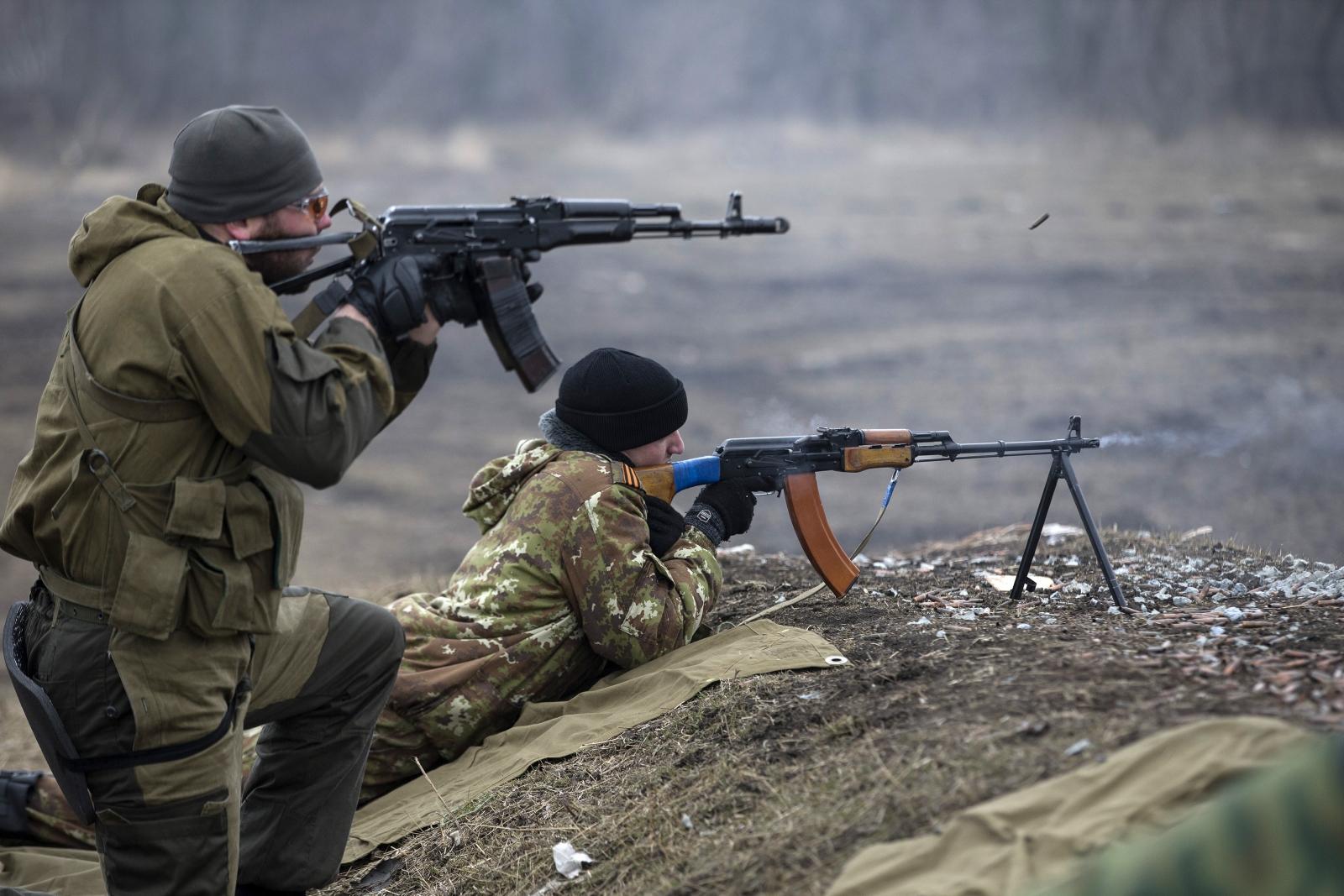 Ukraine pro-Russian rebels