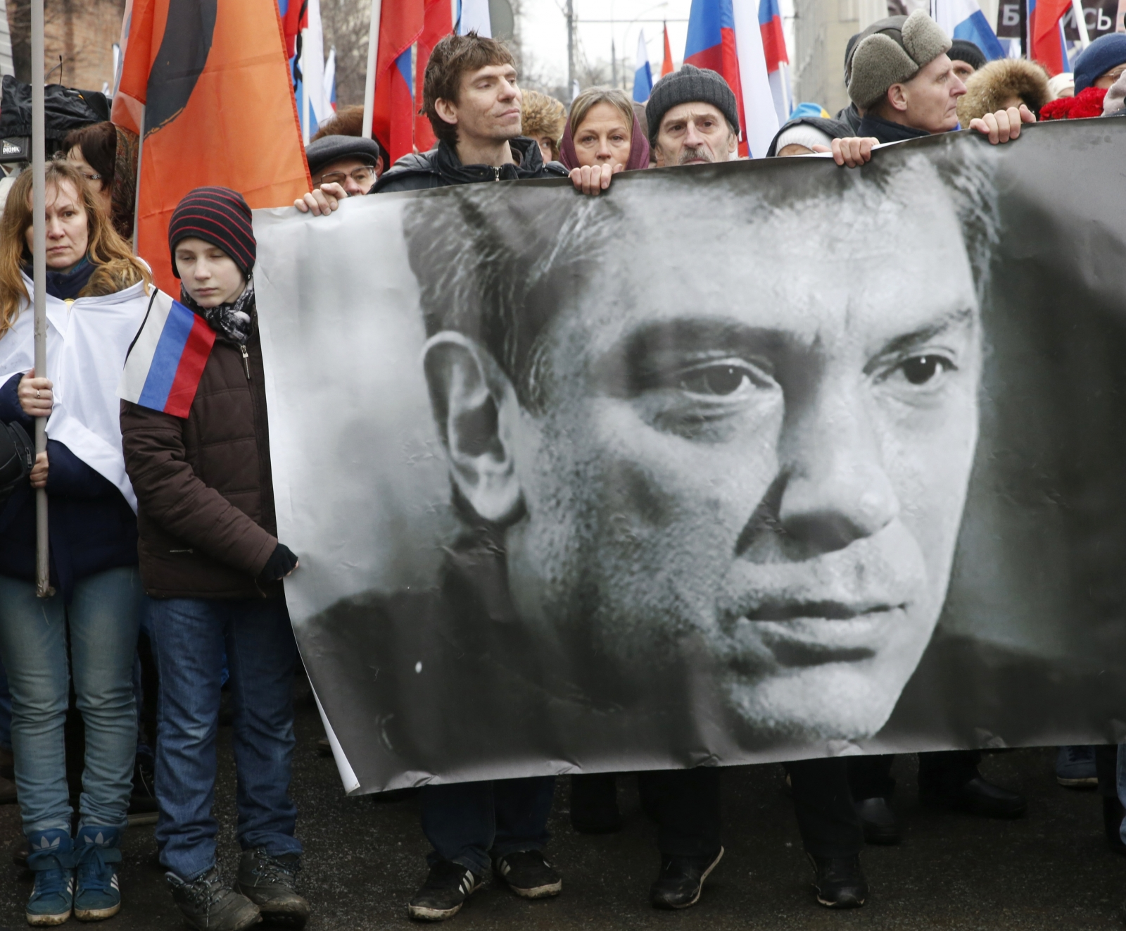 Boris Nemtsov murdered