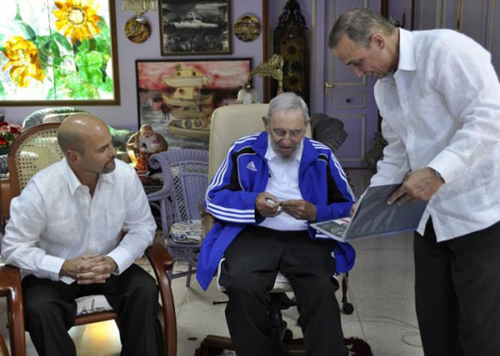 Fidel Castro Cuban Five`