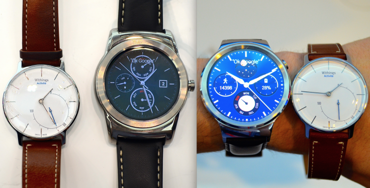 LG Watch Urbane and Huawei Watch