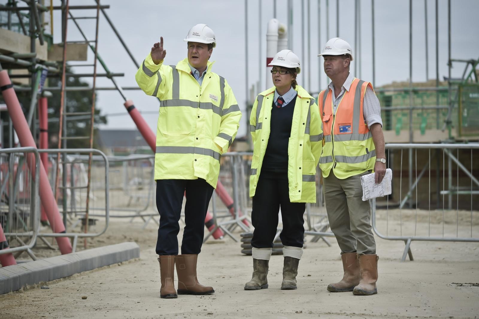 David Cameron development site