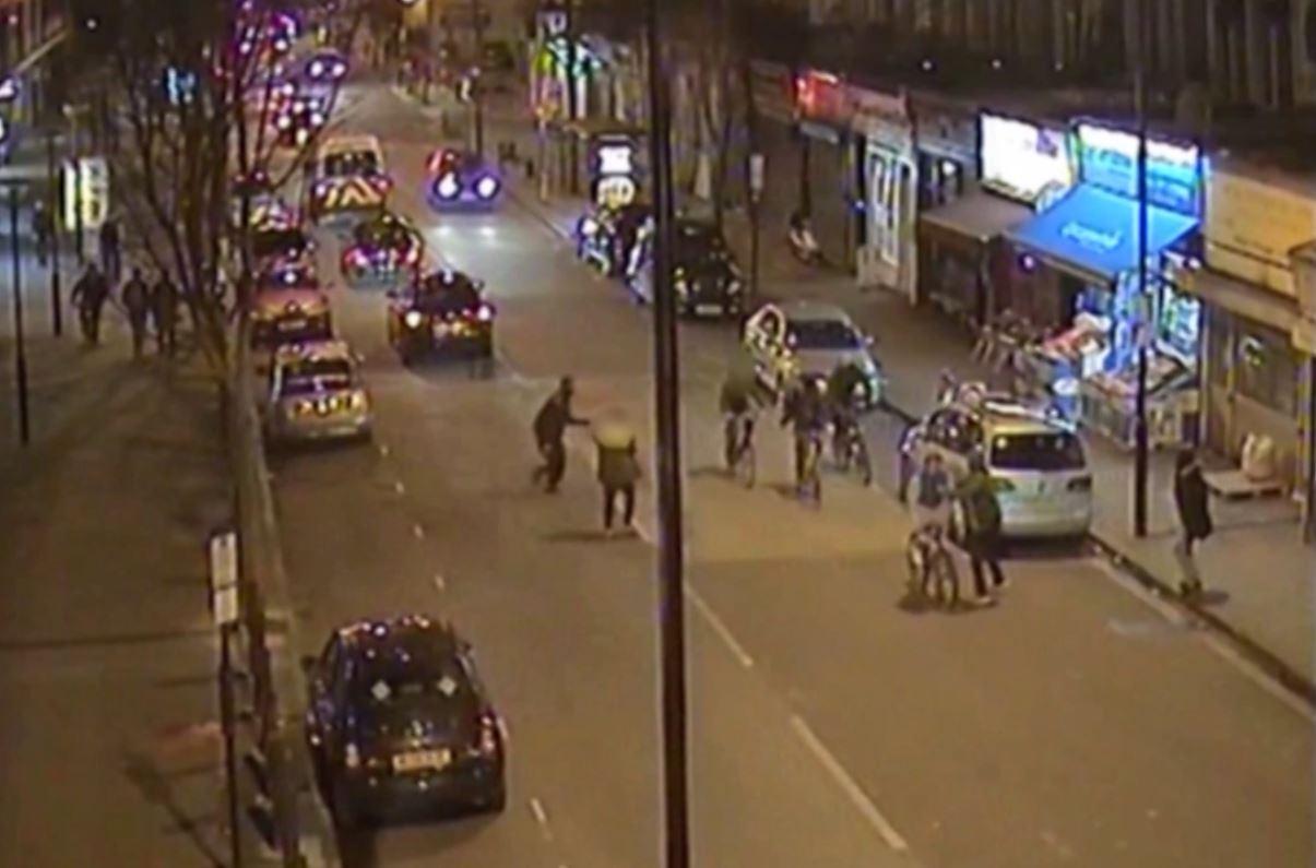Alan Cartwright murder CCTV London
