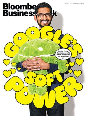 Sundar Pichai most powerful man in mobile