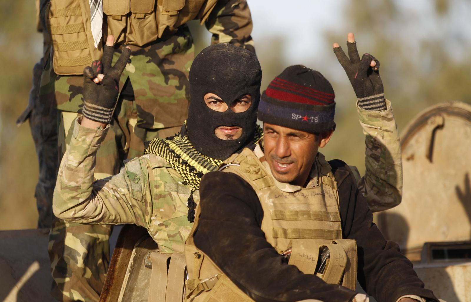Iraqi army Tikrit Isis advance