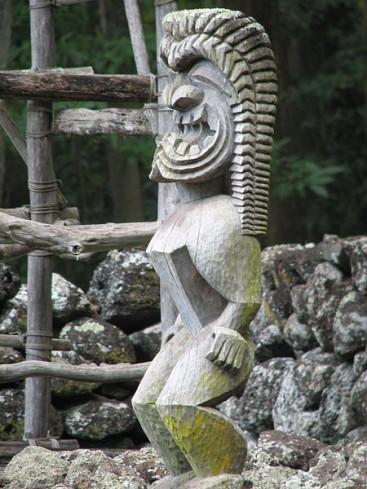 Hawaiian god Ku