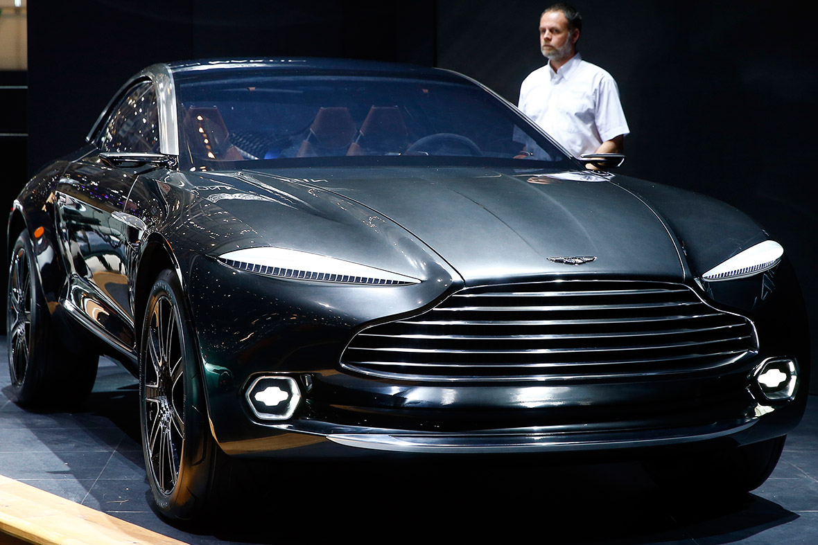 Aston Martin DBX concept car