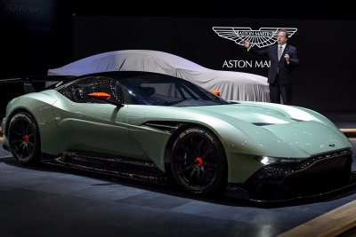 Aston Martin Vulcan track-only supercar