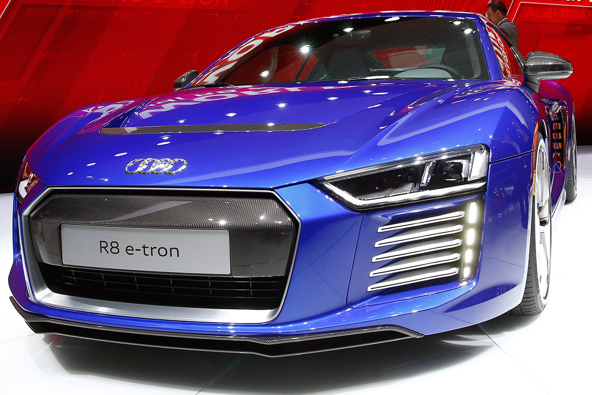 Audi R8 e-tron electric car