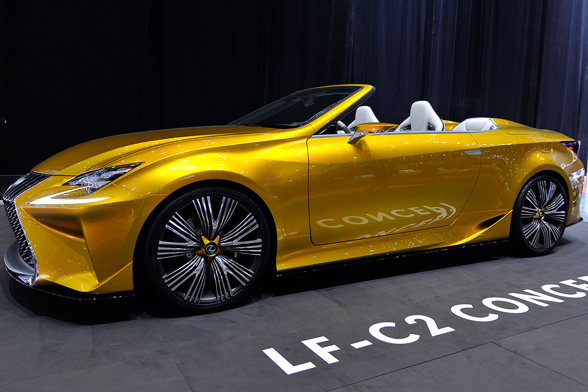 Lexus LF-C2 concept car