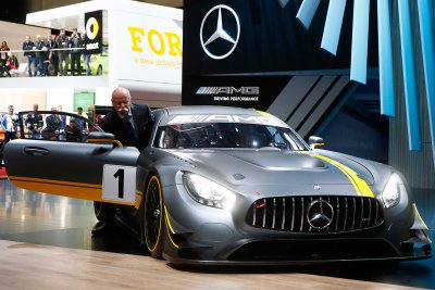 Mercedes-AMG GT3 race car