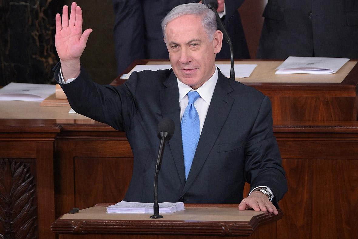 Benjamin Netanyahu US Congress