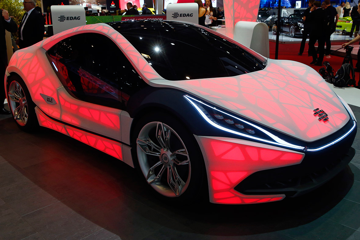 EDAG Light Cocoon concept car