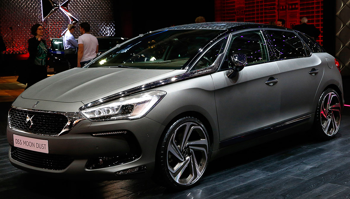 Citroen DS 5 Moon Dust
