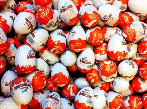 Kinder Eggs misused for smuggling drugs