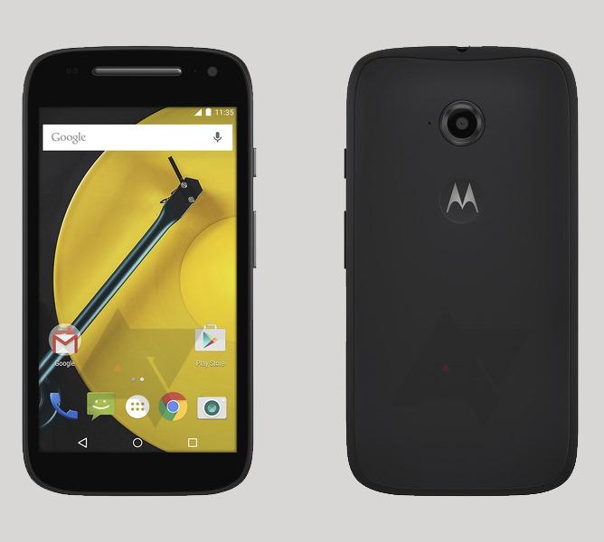 Android Lollipop Moto E 2015