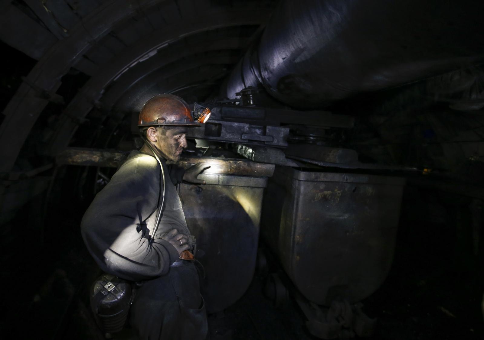 Ukraine mine blast