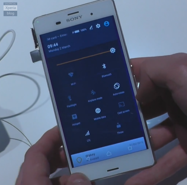 Sony Xperia Z3 running Android 5.0.2 Lollipop spotted at MWC