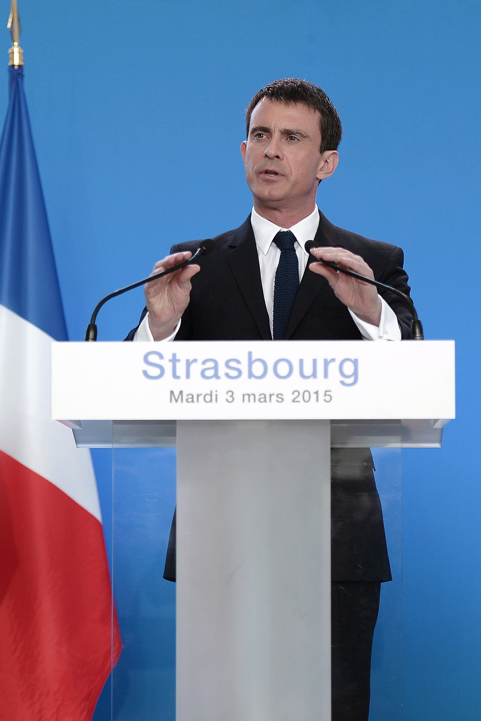 French Interior Minister Manual Valls
