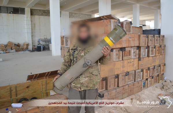 Syria Nusra US weapons Tow