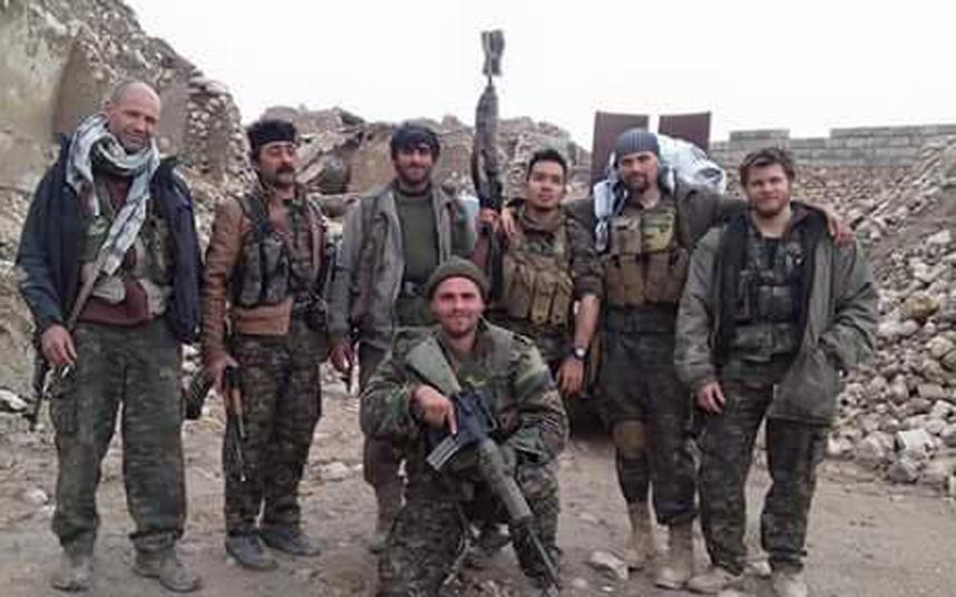 Royal Marine Konstandinos Erik Scurfield Syria
