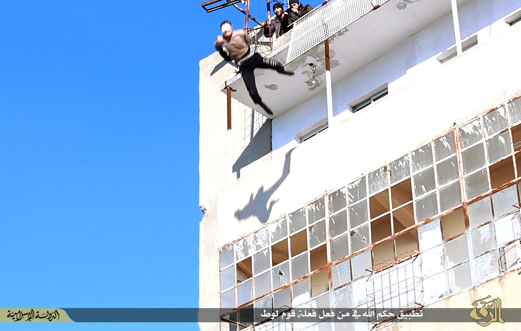 Isis Gay man executed Syria