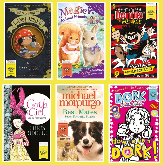 World Book Day £1 books