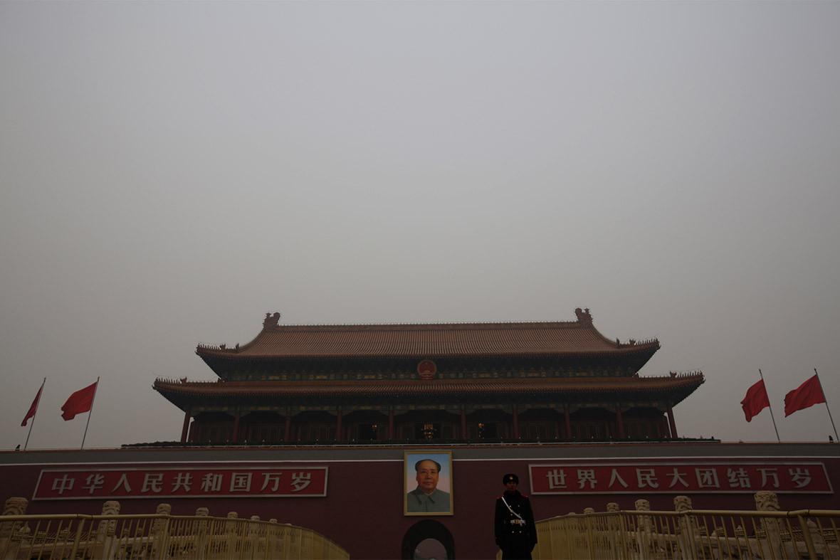 china air pollution