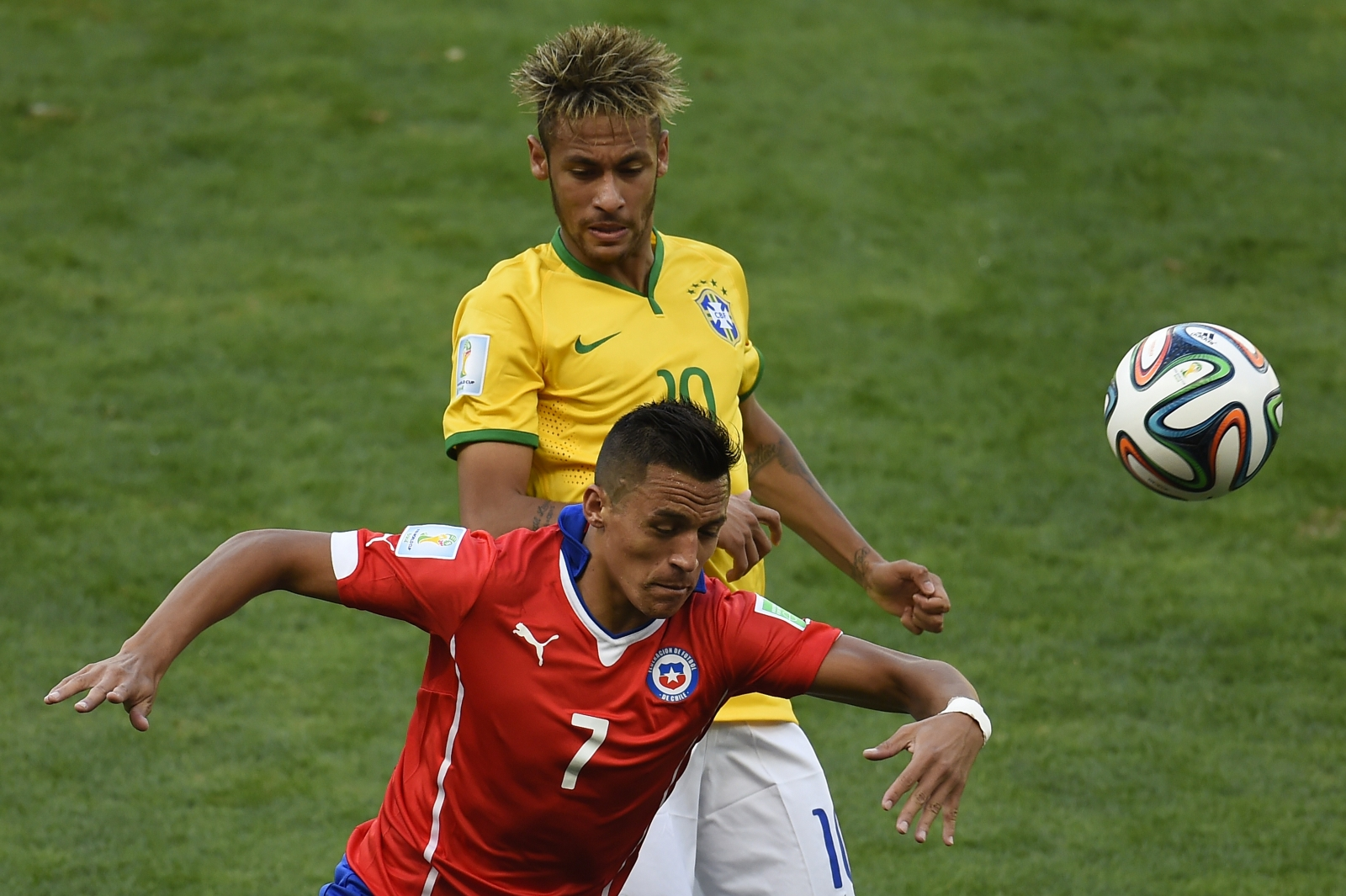 Alexis and Neymar