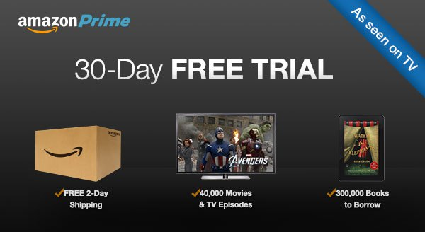 Amazon Prime free trial adverts banned