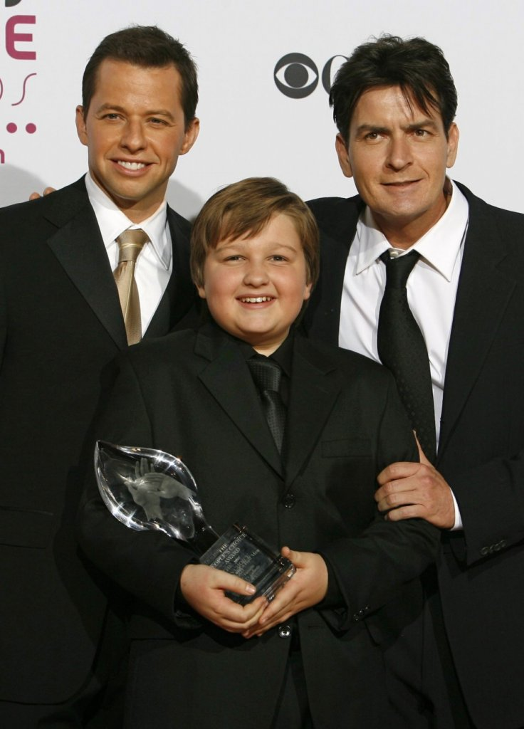 Charlie Sheen, Jon Cryer and Angus T. Jones