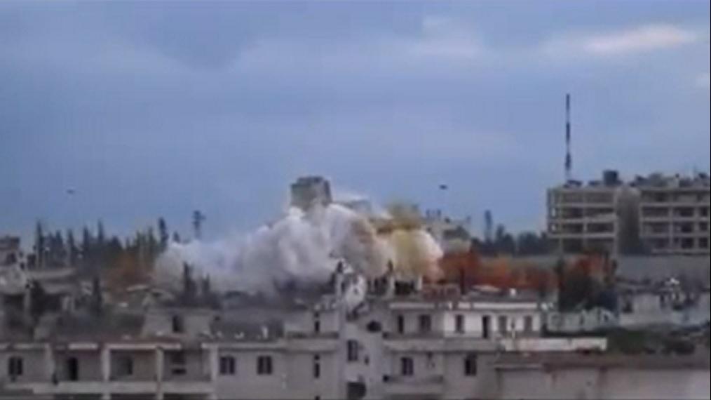 Aleppo Intelligence headquarters