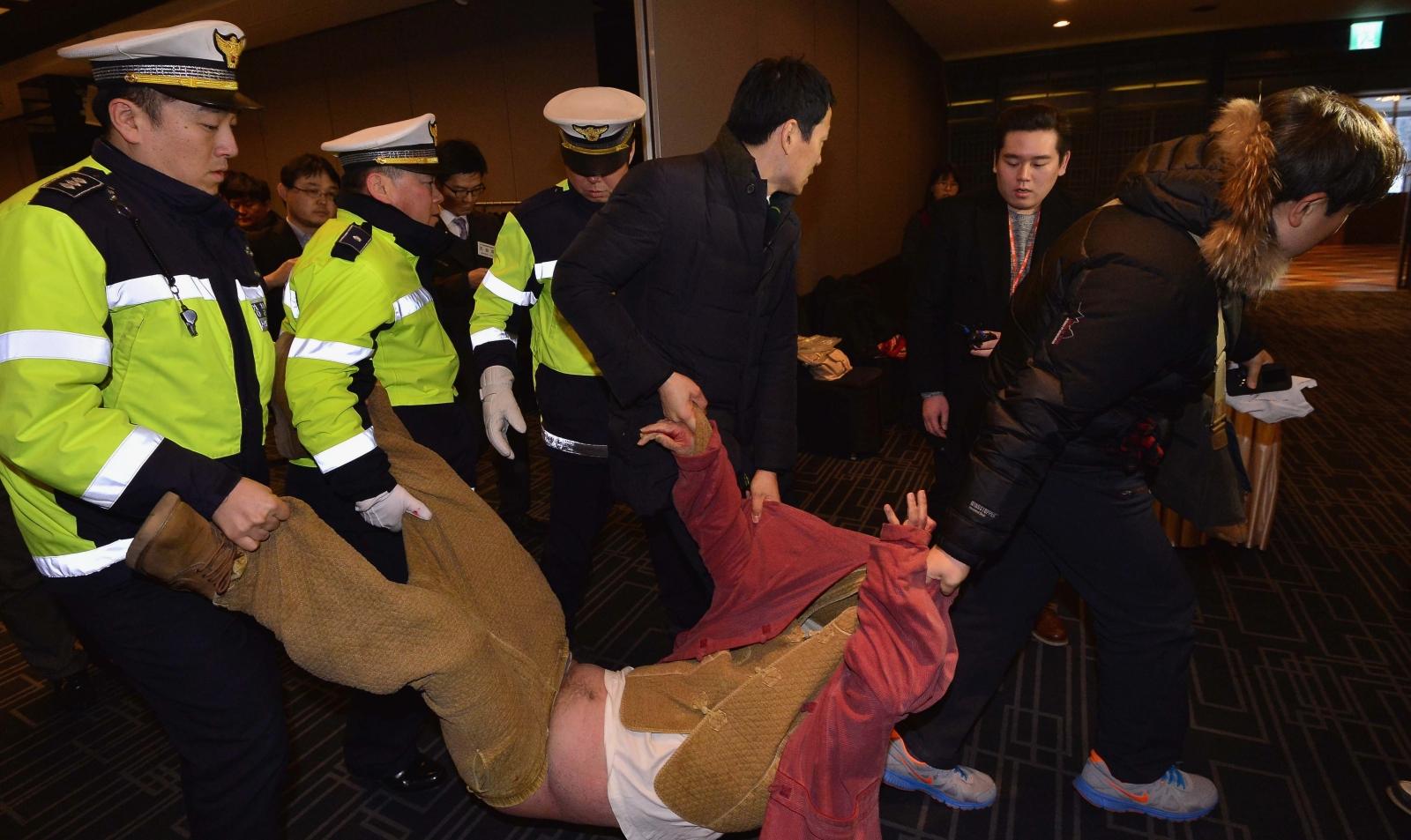 US ambassador Lippert attacker Kim ki-jong