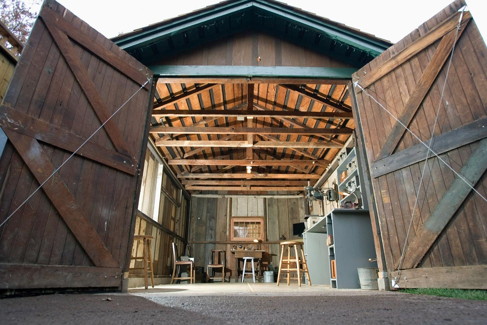 HP Hewlett Packard garage
