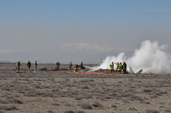 Jet crash Turkey Anatolia