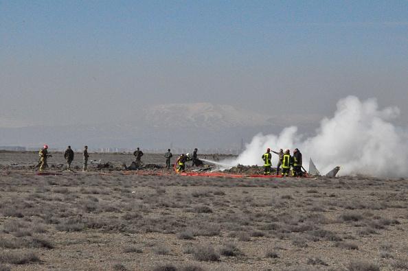 Jet crash Turkey Anatolia