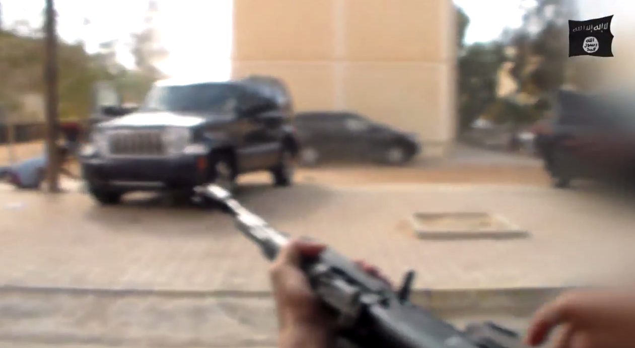Isis Egypt drive-by shooting