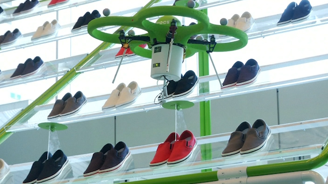 Crocs by Drone