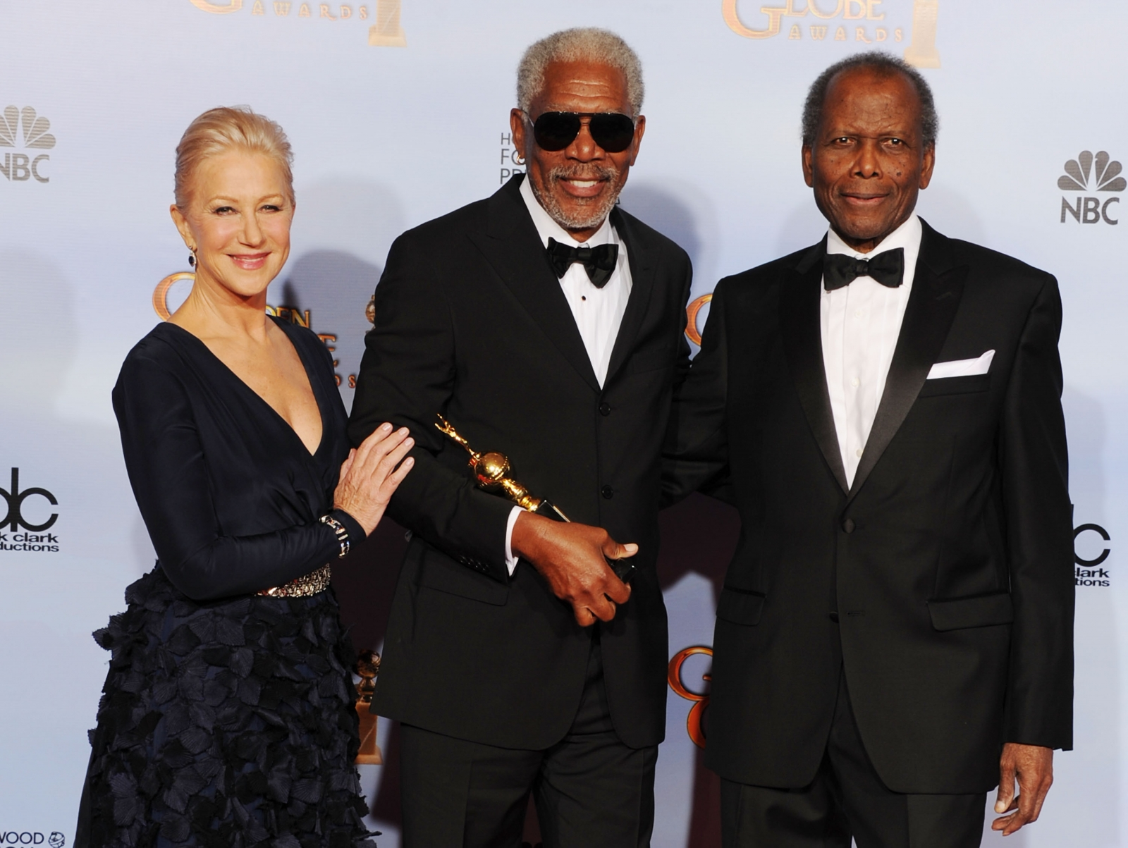 Morgan Freeman and Helen Mirren