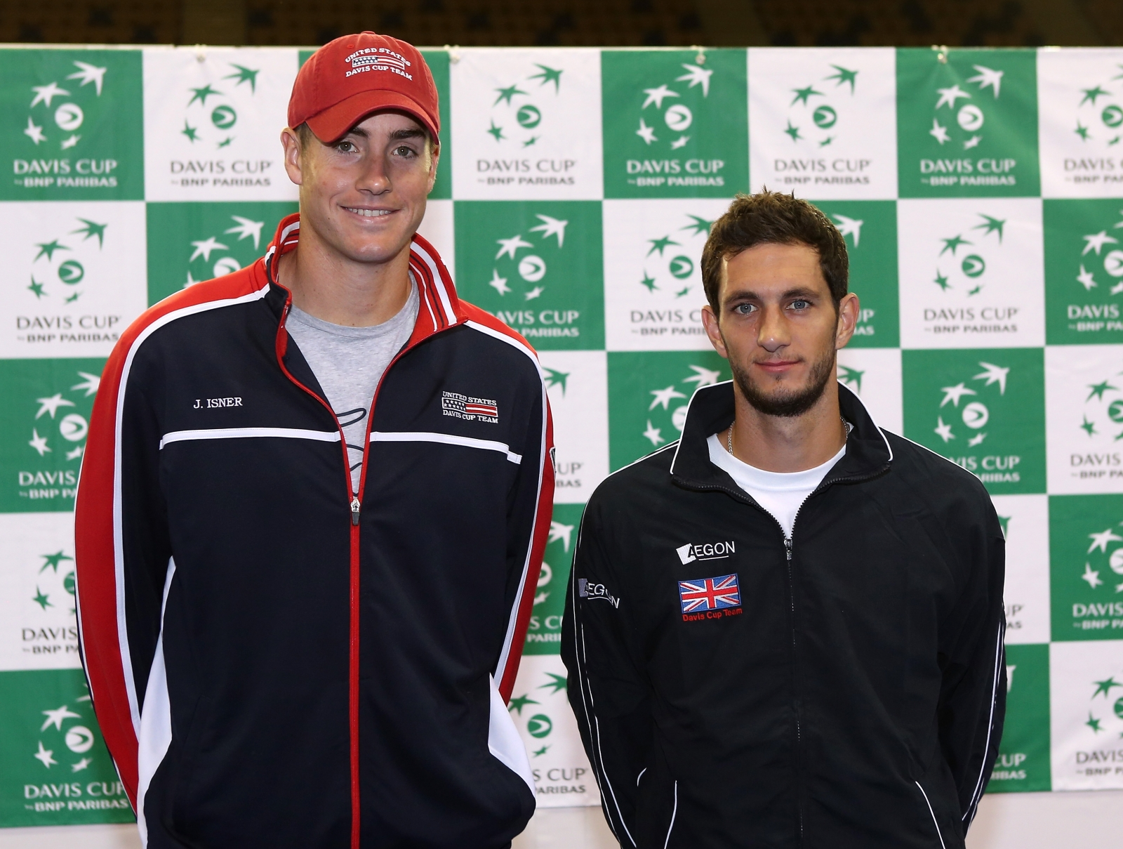 John Isner and James Ward