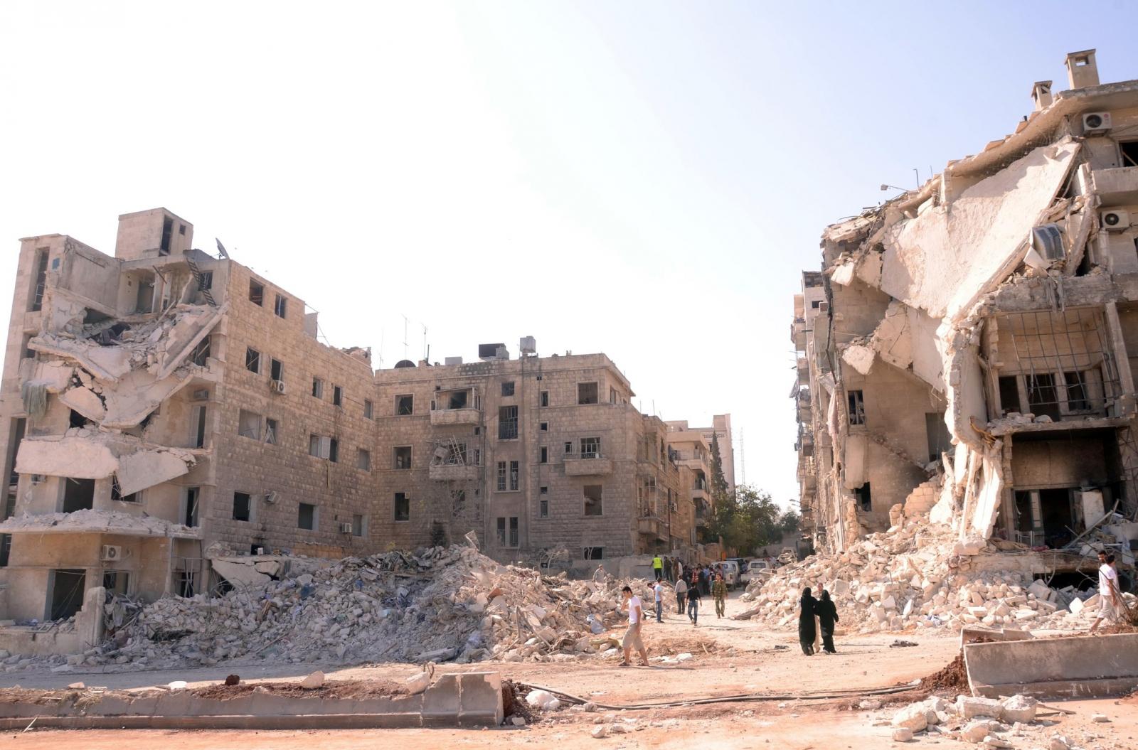 Syrian hospital Aleppo