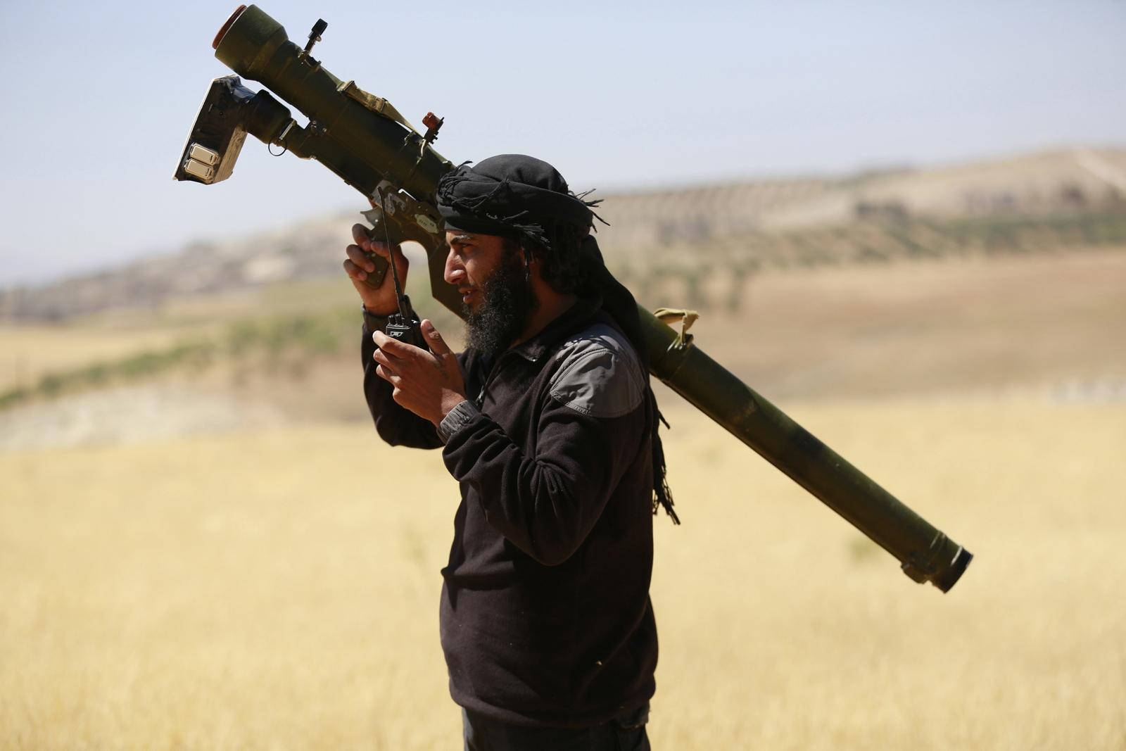 Syria airstrike kills top Nusra commander
