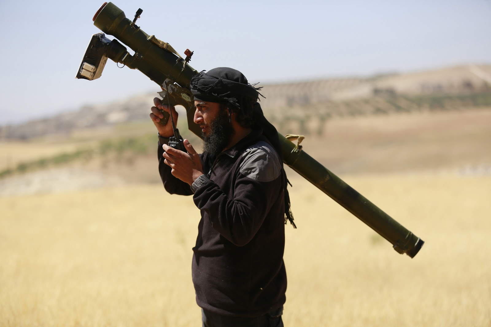 Syria airstrike kills top Nusra commander
