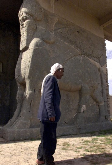 isis bulldoze Nimrud Iraq