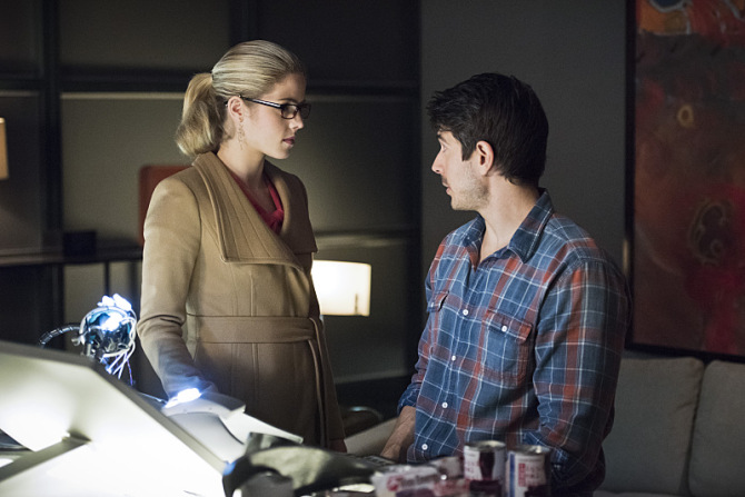 Felicity Ray Palmer in The Flash