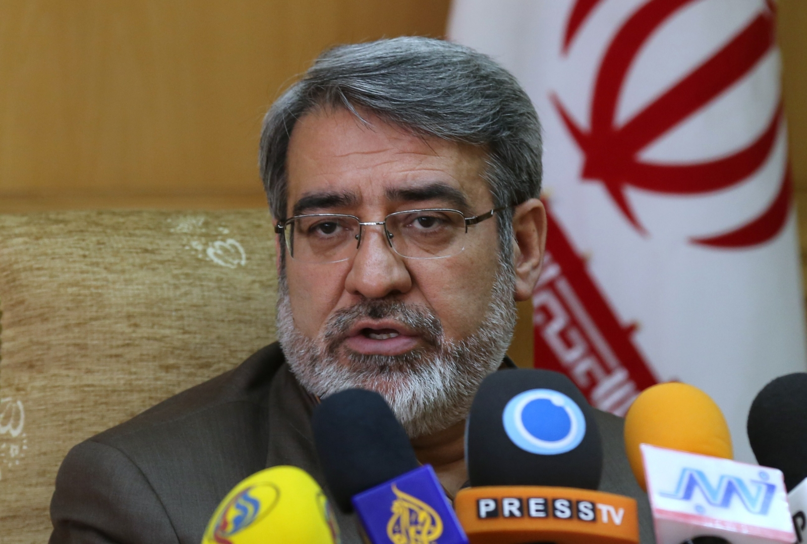 Interior Minister Abdolreza Rahmani Fazli