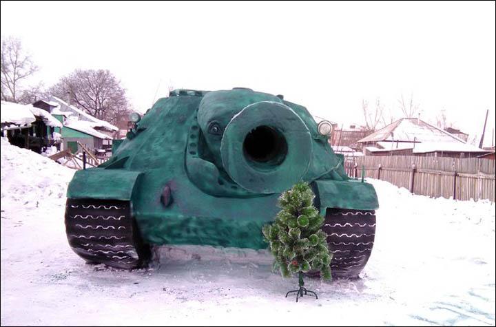 soviet tank replica